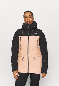 The North Face - PALLIE JACKET - Skijakke - black/morning pink - 0