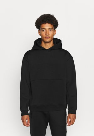HOODY KANGAROO POCKET - Sweatshirt - black