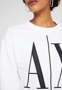 Armani Exchange - Sweatshirt - white - 5