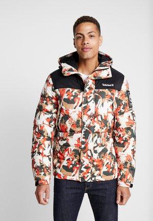 OUTDOOR ARCHIVE PUFFER JACKET - Winter jacket - spicy orange/black