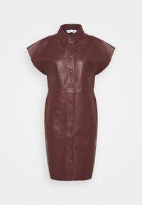 Samsøe Samsøe - ARIAH DRESS  - Freizeitkleid - decadent choco - 0