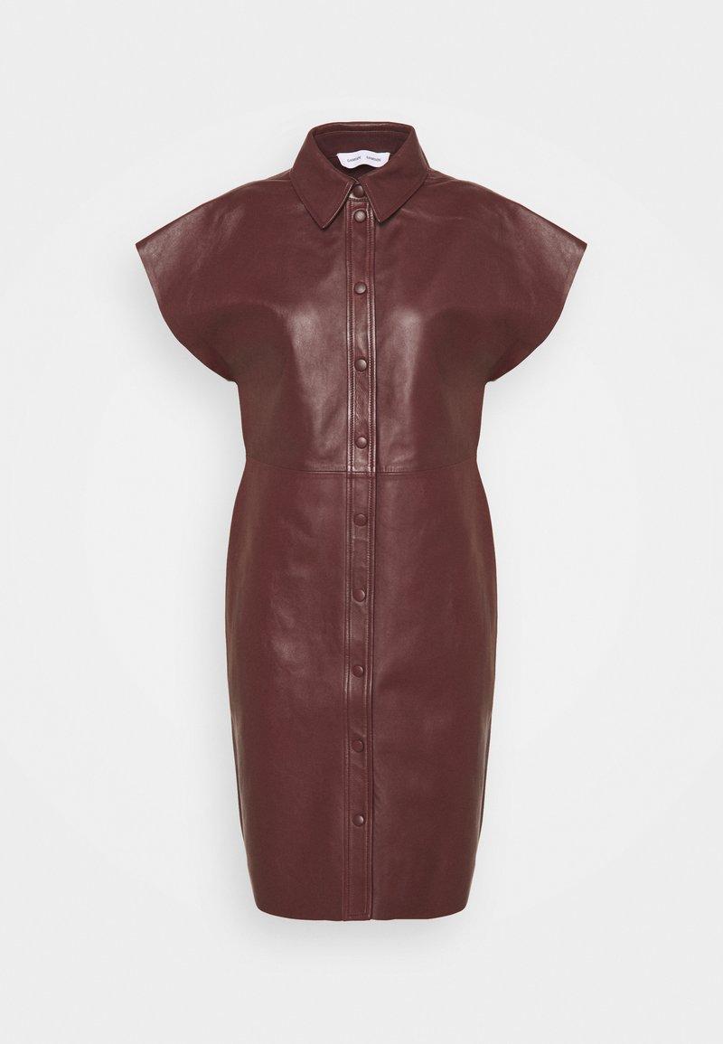 Samsøe Samsøe - ARIAH DRESS  - Freizeitkleid - decadent choco