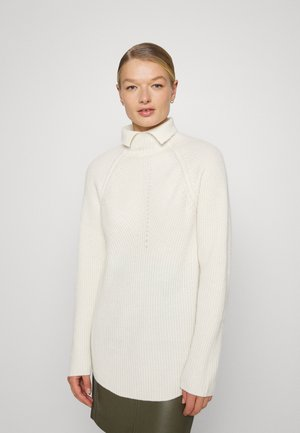 MOVING T NECK - Trui - ivory