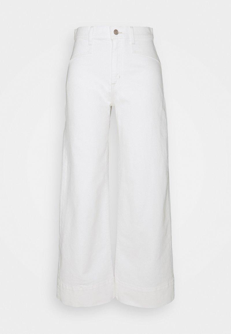 GAP Petite - WIDE LEG - Jeans baggy - ecru