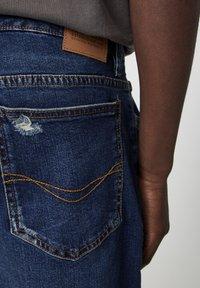 PULL&BEAR - Jeansshorts - blue-black denim - 4