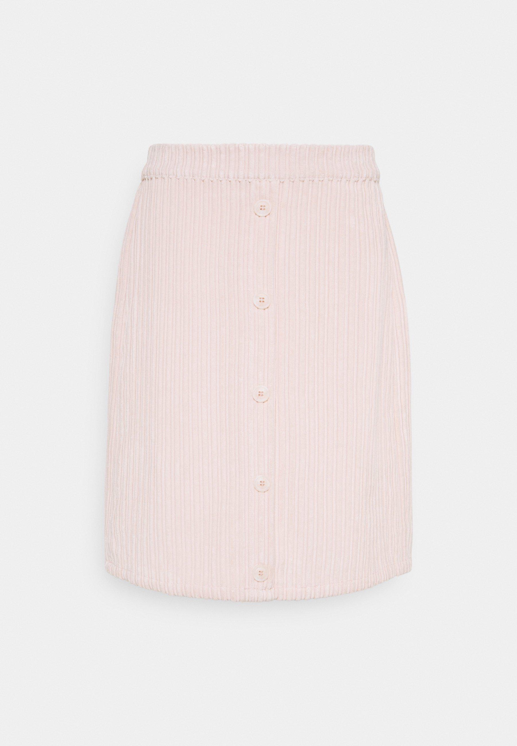 Women VILOCK BUTTON SKIRT - A-line skirt