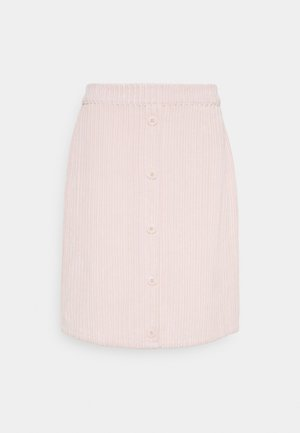 VILOCK BUTTON SKIRT - A-line skjørt - peach blush