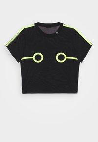 Diesel - UFTEE-ROUNDFEM-M - Pyjama top - black/lemon - 3