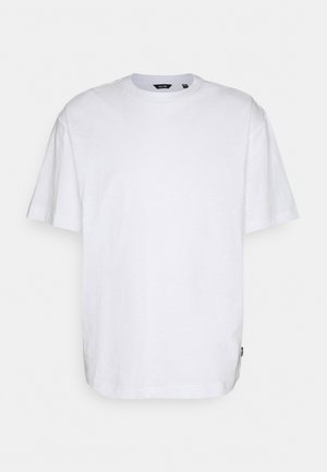 ONSANDREW LIFE TEE - Print T-shirt - bright white