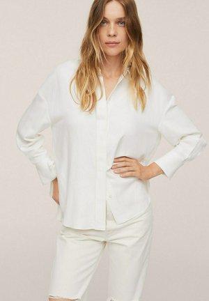 BOS - Button-down blouse - offwhite