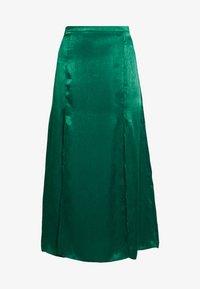Topshop - PLAIN AUSTIN - Áčková sukně - green - 3