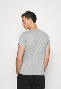LTB - 2 PACK  - Basic T-shirt - grey mel/grey mel - 3