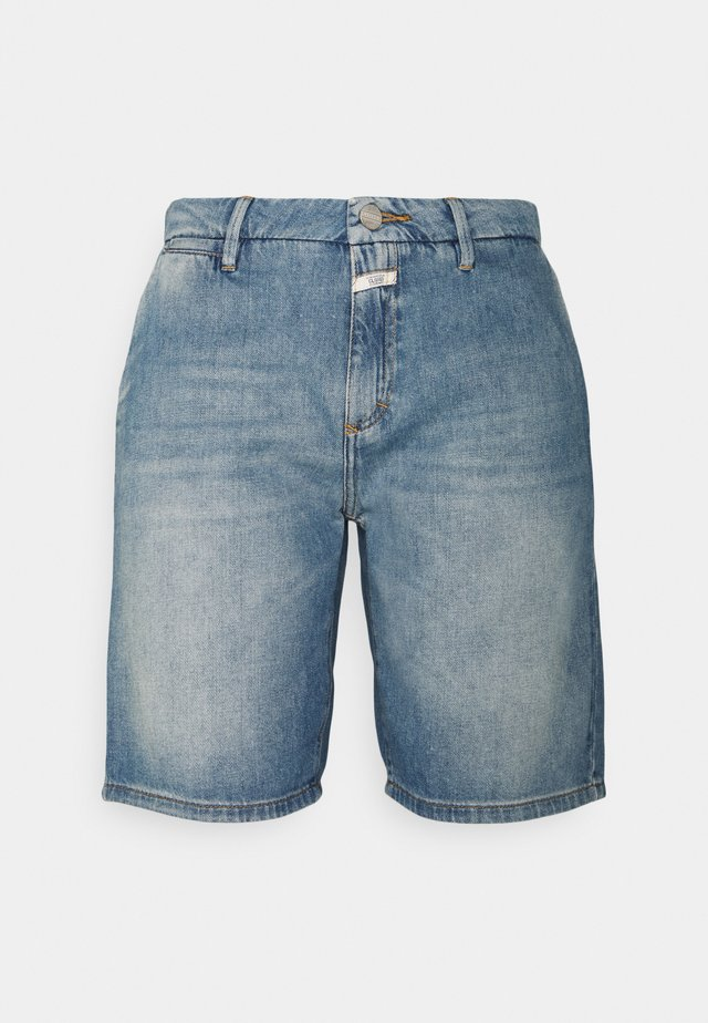 HOLDEN - Jeans Shorts - mid blue