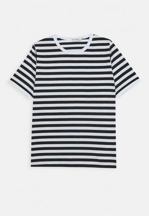 LASTEN LYHYTHIHA - T-shirt imprimé - white/black
