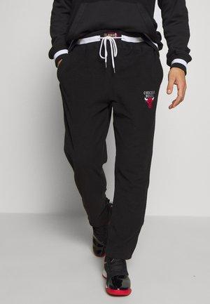 NBA CHICAGO BULLS REVERSED TEARWAY PANT - Club wear - black