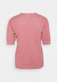 Vila - VICHASSA PUFF - T-shirt print - wild rose - 1