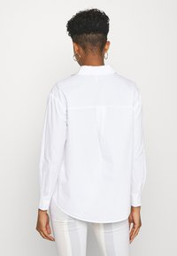 Pieces - PCALABAMA - Button-down blouse - bright white - 2