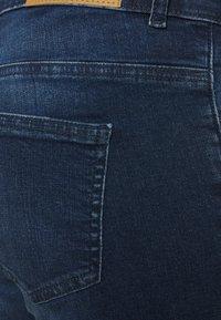 Noisy May Curve - NMLUCY  - Jeans Skinny Fit - dark blue denim - 4