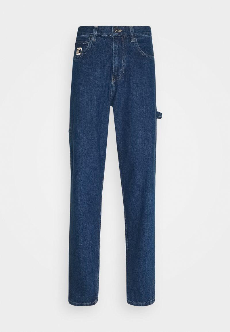 Karl Kani - PANTS RINSE - Jeans baggy - blue