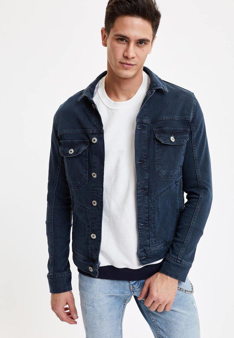 DeFacto - Denim jacket - indigo