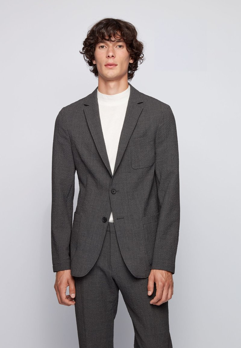 BOSS - Blazer jacket - light grey