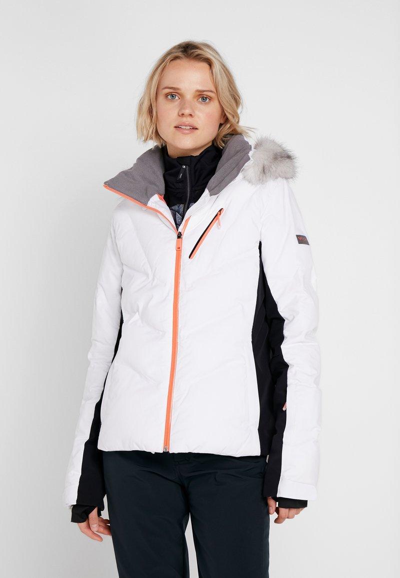 Roxy - SNOWSTORM - Giacca da snowboard - bright white