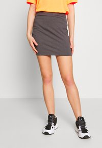 Even&Odd - 2 PACK - Minifalda - grey/black - 4