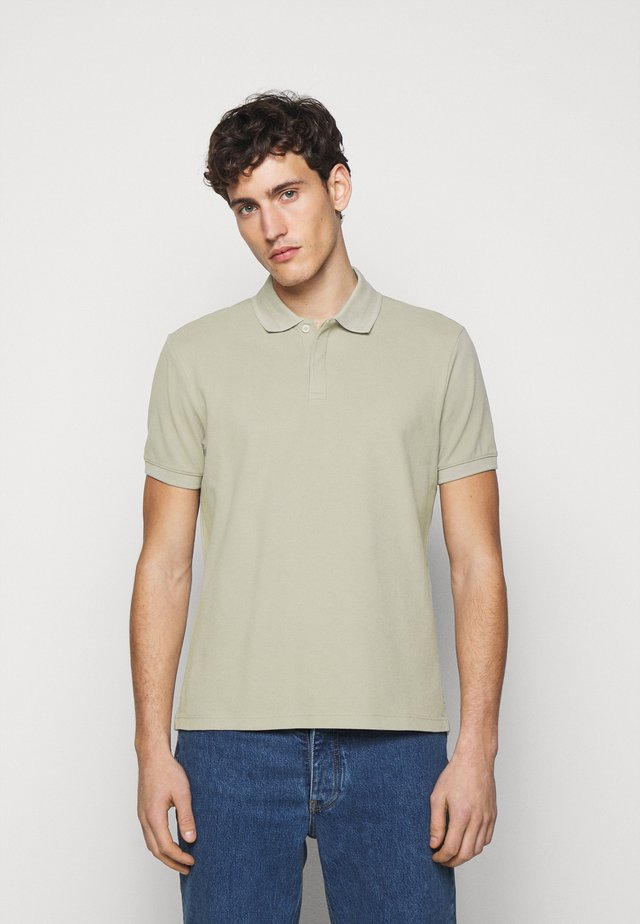 SEED STITCH - Polo shirt - field sage