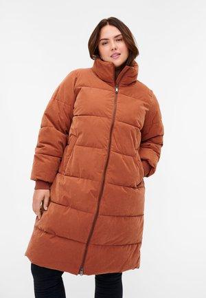 PUFF MIT REISSVERSCHLUSS - Zimní kabát - sequoia