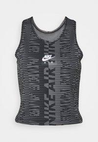 Nike Performance - AIR TANK - Tekninen urheilupaita - black/silver - 0