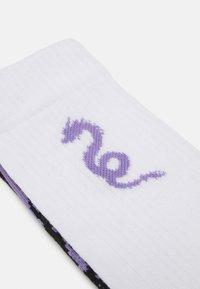 YOURTURN - NEO GOTH 3 PACK - Sokker - black/purple /off-white - 1