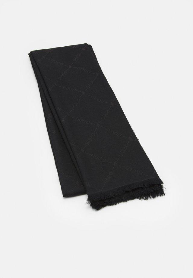 LOGO WRAP - Chusta - black