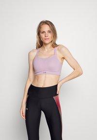 Under Armour - RUSH HIGH - High support sports bra - purple - 0