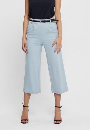 HOSE CULOTTE - Trousers - cashmere blue