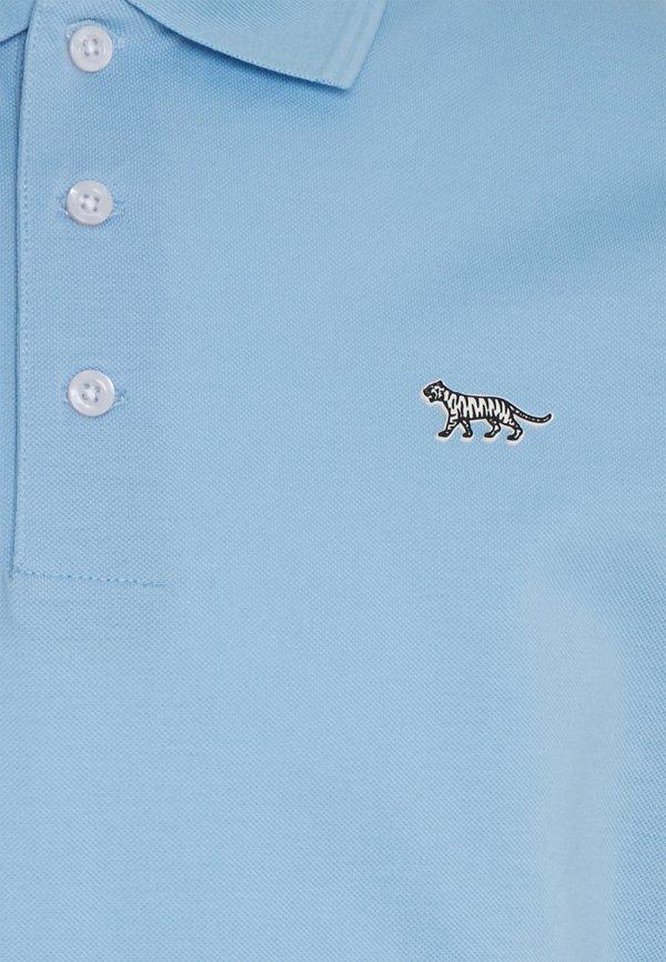 Tiger of Sweden DARIOS - Koszulka polo - waterfall/niebieskoszary Odzież Męska AFQF