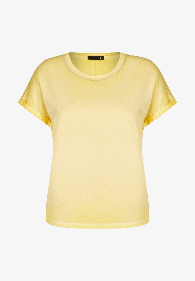 TR - Basic T-shirt - gelb meliert