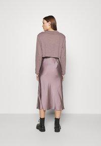 AllSaints - BENNO TEE DRESS SET - Long sleeved top - taupe - 2