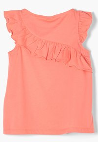 s.Oliver - Print T-shirt - light orange - 1