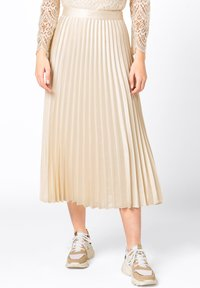 HALLHUBER - Pleated skirt - creme - 0