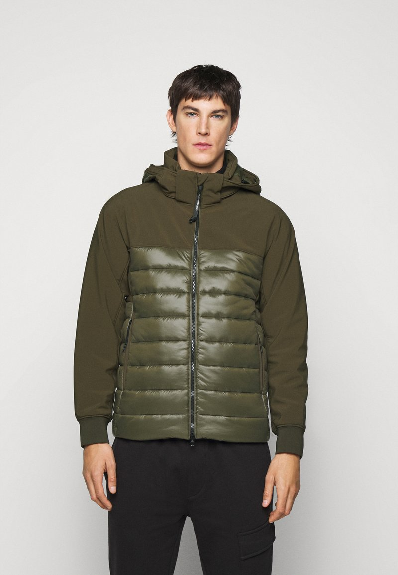 C.P. Company - OUTERWEAR MEDIUM JACKET - Lehká bunda - ivy green
