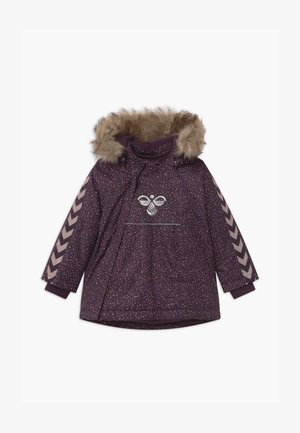 JESSIE UNISEX - Winter coat - blackberry wine