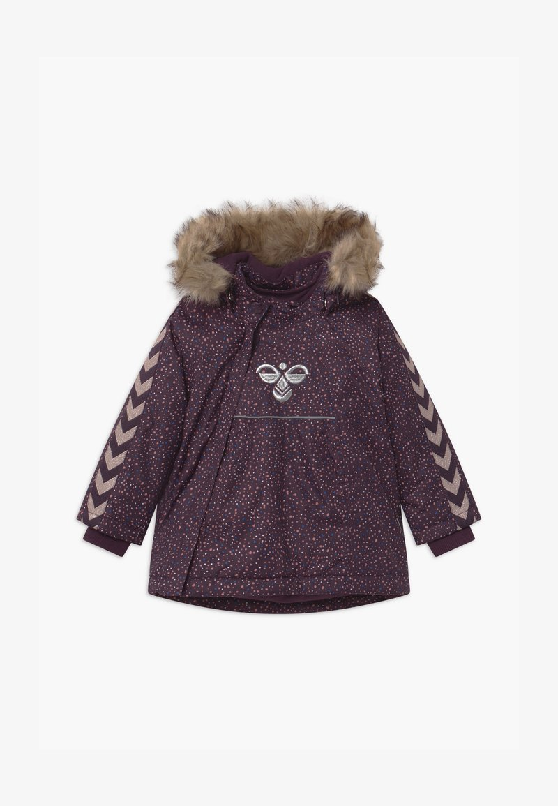 Hummel - JESSIE UNISEX - Winter coat - blackberry wine