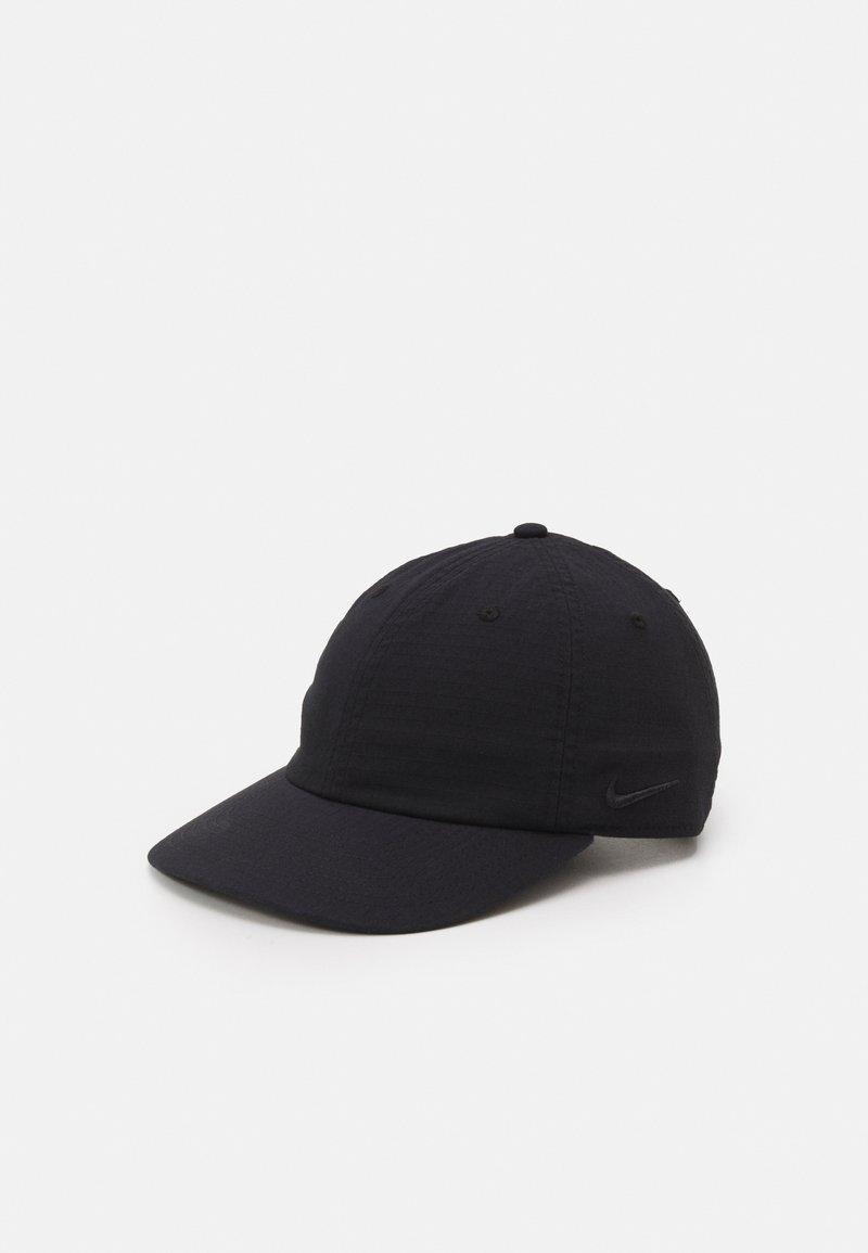 Nike SB - FLATBILL CAP UNISEX - Lippalakki - black/black