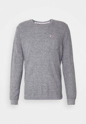 POCKET TEE - Long sleeved top - dark grey heather