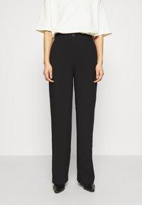 Modström - GALE PANTS - Pantalon classique - black - 0