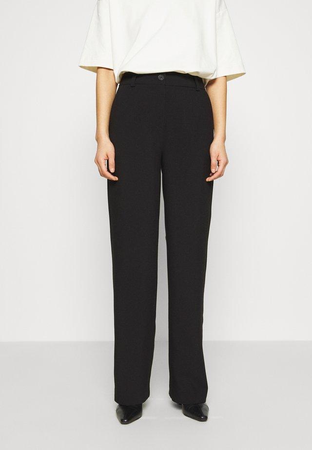 GALE PANTS - Pantalon classique - black