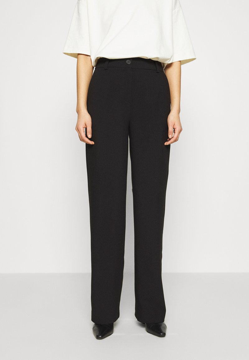 Modström - GALE PANTS - Pantalon classique - black