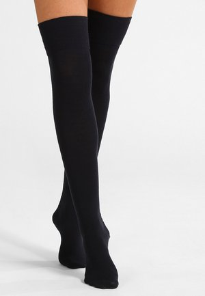 FALKE Striggings Overknees - Overknee kousen  - dark navy
