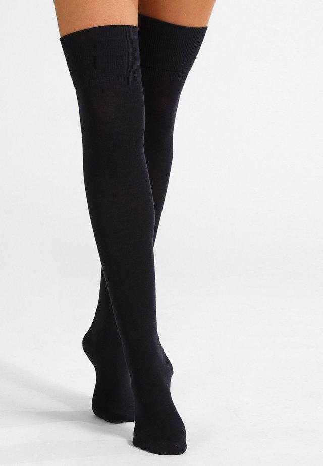 Over-the-knee socks - dark navy