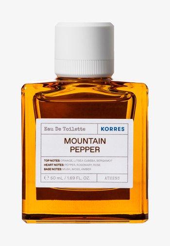 MOUNTAIN PEPPER EDT FOR HIM - Eau de Toilette - -